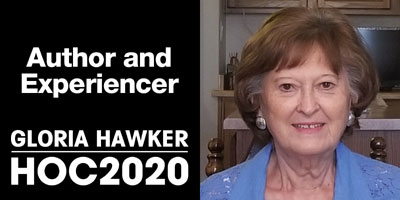 Gloria Hawker author and alien contact researcher
