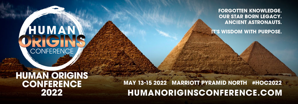 human origins conference banner ad