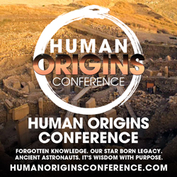 human origins conference square banner